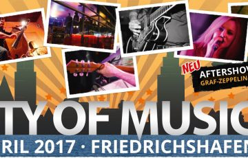 City of Music am 8. April 2017 in Friedrichshafen