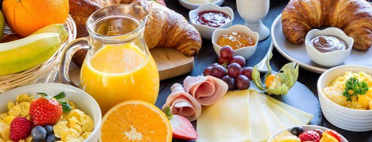 Frühstücksbuffet im Restaurant Ferdinand